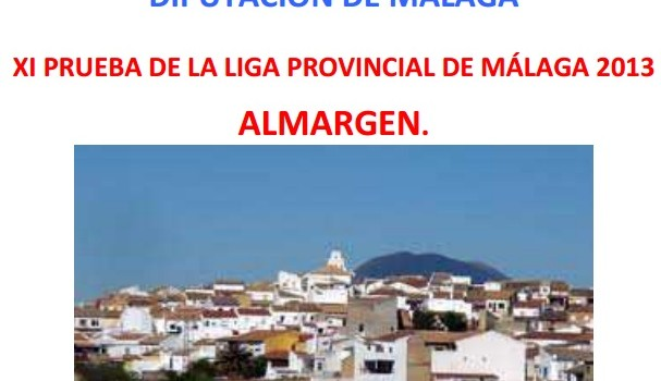 PRUEBA DE ORIENTACIÓN EN ALMARGEN.