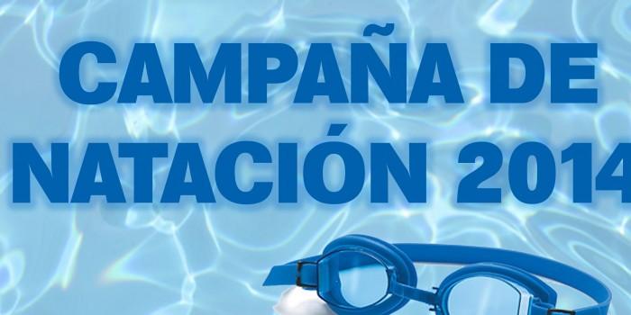 CAMPAÑA DE NATACIÓN 2014