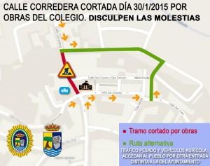 CALLE CORTADA CORREDERA