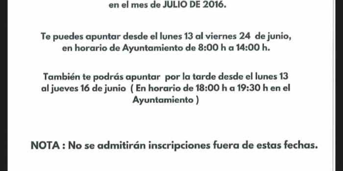 CAMPAÑA DE NATACIÓN DE ALMARGEN 2016