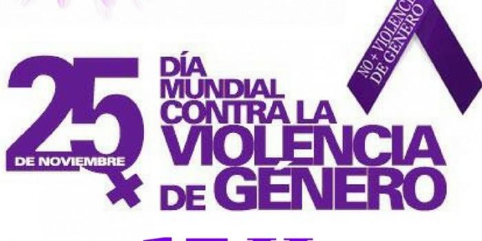 25 de noviembre: DÍA MUNDIAL CONTRA LA VIOLENCIA DE GÉNERO «Almargen»