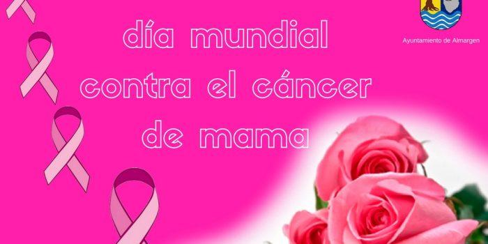 19 de octubre «DÍA MUNDIAL CONTRA EL CÁNCER DE MAMA»