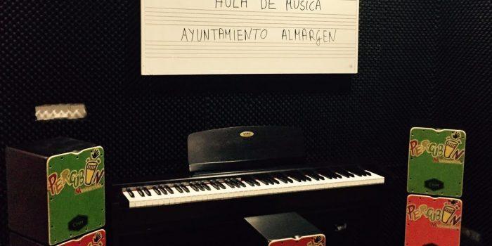 EL AULA MUSICAL DEL AYUNTAMIENTO DE ALMARGEN AMPLIA CONTENIDOS